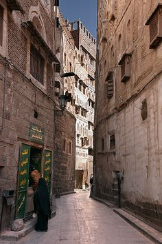 Sanaa.  © Inaki Caperochipi Photography old city , Yemen