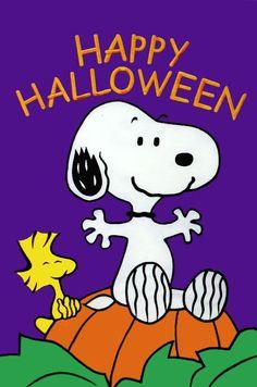 Snoopy Halloween, Charlie Brown Halloween, Halloween Wishes, Charlie Brown And Snoopy, Halloween Greetings, Halloween Cartoons, Spooky Halloween Pictures, Halloween Coloring Pictures, Halloween Quotes