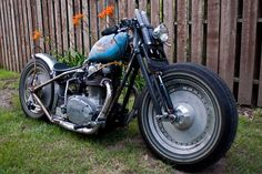 Yamaha xs650 #bobber by dstarc178. | Bobber Inspiration - Bobbers and Custom Motorcycles August 2014