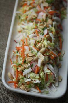 Thai Peanut Slaw