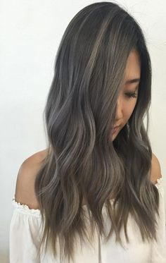 Summer colors grey color adds more attraction with arctic layers hairstyles 2017