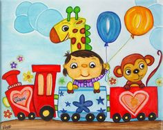 Tiago's Train by luvelosor on DeviantArt