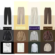 """""""Neutrals for All Four Seasons"""" by catrenn on Polyvore"""