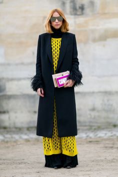 Street Style at Paris Fashion Week, March 2016
