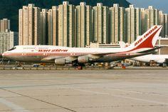Air India, Boeing 747-300, VT-EPX, Hong Kong Kai Tak