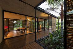 interior design Casa Itzimná by Reyes Rios + Larrain Arquitectos