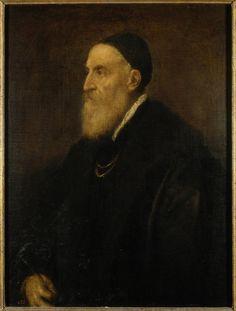 Tiziano. Self-portrait. 1566. Museo del Prado, Madrid
