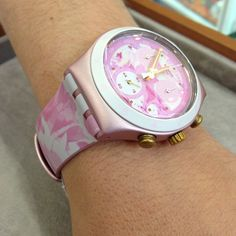 #Swatch ROSE JUNGLE swat.ch/1oMtm33