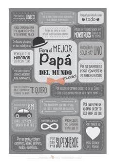 Imprimible gratis para el dia del padre