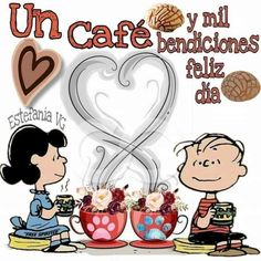 Good Morning Funny, Good Morning Quotes, Good Night In Spanish, Morning Messages, Coffee Quotes, Peanuts, Animated Gif, Sticker, Animation
