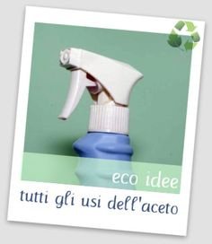 Tutti gli usi dell'aceto bianco Limpieza Natural, Home Economics, Organization Hacks, Organizing Tips, Spray Bottle, Housekeeping, Home Remedies, Cleaning Supplies, Home Goods