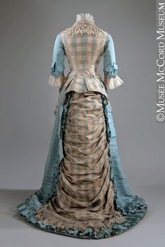 Evening dress About 1873, 19th century