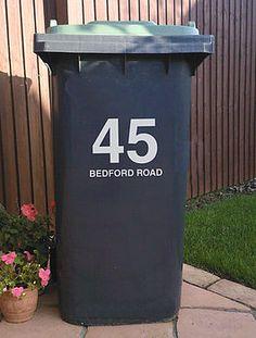 Bin Street Number an