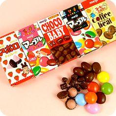 Buy Meiji Petit Assort Chocolate Selection at Tofu Cute Marble Chocolate, M & M Chocolate, Chocolate Brands, Chocolate Treats, Meiji Chocolate, Japanese Chocolate, Japanese Treats, Japanese Candy, Japanese Food