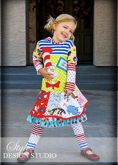 Dr Cat Playful Character skirt top and by StyleDesignStudio, $300.00