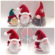 He encontrado este interesante anuncio de Etsy en https://www.etsy.com/es/listing/253273476/santa-gonk-christmas-decorations-crochet