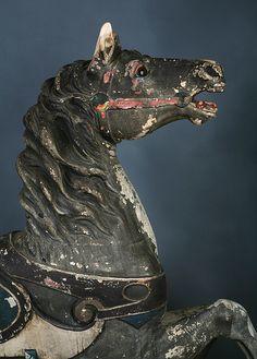 Old Dentzel Carousel Horse In Park Paint | Flickr - Tommy