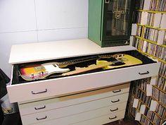 DIY Mueble para Guitarras