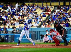 June 7,2017 Adrian Gonzales against the Washington Nationals