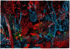 Les fresques spectrales de Brecht Evens
