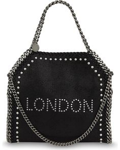 new product 2544e 264b4 STELLA MCCARTNEY Falabella london mini tote