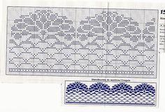Barrado crochet Filet