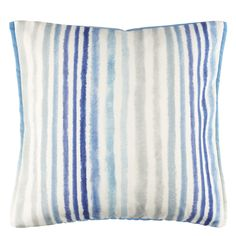 Palasari Cobalt Decorative Pillow design by Designers Guild Blue Pillows, Throw Pillows, Color Harmony, Designers Guild, Outdoor Cushions, Luxury Home Decor, Blue Accents, Graphic Patterns, Pillow Design