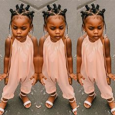 Bantu Knot Hairstyles, Toddler Braided Hairstyles, Toddler Braids, Natural Hairstyles For Kids, Braids For Kids, Little Girl Braids, Natural Hair Styles For Black Women, Girls Braids, Short Hair Styles