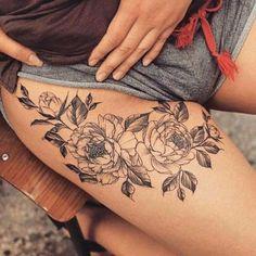 Résultats de recherche d'images pour « tatouage cuisse et fesses femme »