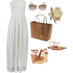 """""""Michael Kors cruise outfit"""" by abarnlund on Polyvore"""