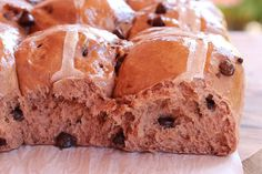 Forum Thermomix - The best Thermomix recipes and community - Maddy's Chocolate Hot Cross Buns