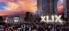 January 28th 2015 marked the beginning of Super Bowl Central…aka crazy, hyped fans enjoying live concerts in downtown Phoenix. You know if I were there now, I'd be one of them!