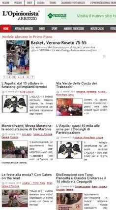Siamo in home page di http://www.lopinionista.it/notizie/