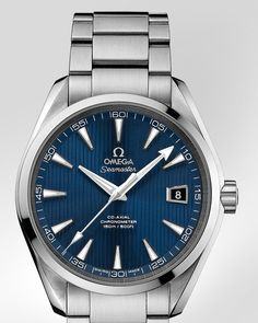OMEGA Watches: Seamaster Aqua Terra 150 M Omega Co-Axial 41.5 mm - Steel on steel - 231.10.42.21.03.001