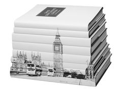 Such a beautiful stack display - london book set