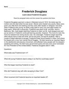 Printables Frederick Douglass Worksheet frederick douglass and susan b anthony statue rochester ny worksheets yahoo image search results