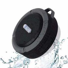 Mini Caixa De Som Bluetooth Viva Voz A Prova Dágua Iphone C6