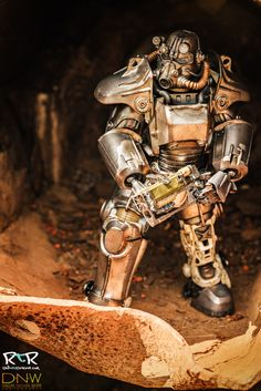 1/6th scale Fallout 4 T-45 Power Armor Collectible Figure reviewed by RadToyReview:  http://radtoyreview.com/2016/02/28/review-threezeros-fallout-4-t-45/ Collectible still up for pre-order at www.threezerostore.com for 398USD/3096HKD with worldwide shipping included. Full details at our page here: https://www.facebook.com/media/set/?set=a.1280360955323063.1073741945.697107020315129&t #Fallout #Fallout4 #Bethesda #BethesdaSoftworks #toys #acitonfigures #collectibles #collectible