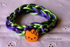 Nähoma moni: Armbänder und Hüpfseile mit der Strickgabel