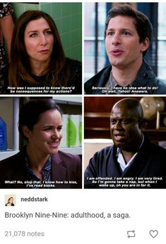 """21 Times 'Brooklyn Nine-Nine' Got Us Chuckling - Funny memes that """"GET IT"""" and want you to too. Get the latest funniest memes and keep up what is going on in the meme-o-sphere. Funny Pictures Tumblr, Tumblr Funny, Funny Memes, Funniest Memes, Funny Pics, Tv Memes, Funny Quotes, Film Quotes, Funny Stuff"""