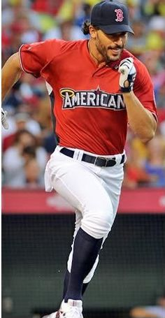 I'll be the first to admit when I am wrong. I said before the man couldnt get any hotter- I was wrong. Baseball uniform with his socks up- it's the end all....