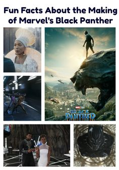 Fun Facts About the Making of Marvel's Black Panther