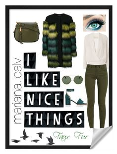 """""""Faux Fur 🍃💚"""" by marianaloalv on Polyvore featuring moda, KI6? Who Are You?, Michelle Mason, Valentino, Givenchy, Jayson Home y Marc Jacobs"""
