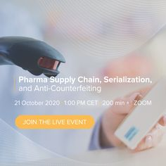 This Live Event will focus on the latest developments and innovations in Pharma Serialization and anti-counterfeiting of pharma products, including industry trends, interactive air cargo, best practices of aggregation, analytics of serialization data, and an end-to-end supply chain visibility. Program Management, Supply Chain Management, Brand Management, Risk Management, Pharmaceutical Manufacturing, Smart Packaging, Cross Functional Team, Industry Trends, Business Studies