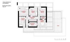 Rzut CPT Koncept 30 CE Modern House Design, Pergola, Floor Plans, How To Plan, Bungalow, Houses, Homemade Modern, House Construction Plan, Bungalows