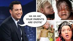 OUTRAGE! Jimmy Kimmel makes fun of vaccine-damaged children, revives hate speech bigotry on national TV