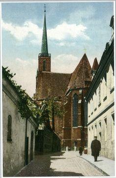 Zdjęcie numer 13 w galerii - Wrocław sprzed stu lat na pocztówkach Maxa Leipelta. Wiele z tych miejsc już nie istnieje [FOTO]