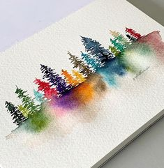 watercolor art / watercolor art ` watercolor art for beginners ` watercolor art easy ` watercolor art ideas ` watercolor art for beginners simple ` watercolor art abstract ` watercolor artists ` watercolor art landscape Watercolor Trees, Watercolor Cards, Tattoo Watercolor, Watercolor Landscape, Watercolor Animals, Abstract Watercolor, Watercolor Background, Watercolor Illustration, Watercolor Artists