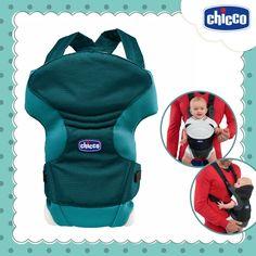 Passeios confortáveis para os pais e para o bebê! O canguru Chicco Go é a alternativa ideal para os passeios desde o nascimento até os 9kg de peso. É prático, leve e dinâmico e oferece posições confortáveis para carregar o bebê. Com cintas de ombro acolchoadas, reguláveis em altura, e estrutura reforçada assegura uma posição correta, oferecendo o suporte ideal para a coluna do bebê.