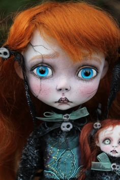 Carrie Crackle faux broken doll(Victorian style)